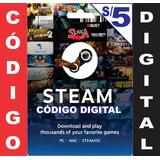 Gift Card Steam Tarjeta Steam De 5 Soles Para Dota 2 Suka
