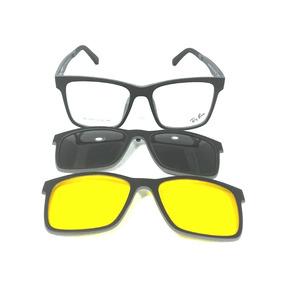 Armação De Oculos De Fibra De Carbono Com Clip On Hb - Óculos no ... c6fa6349b2