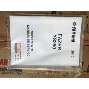 Manual De Servico Fazer 250 2010 Original 1s4f8197w0