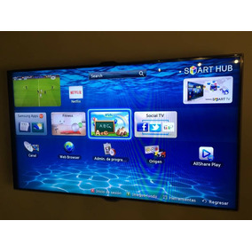 Samsung Smart Tv Un46es7500 46 Full 3d 1080p Hd Slim Led