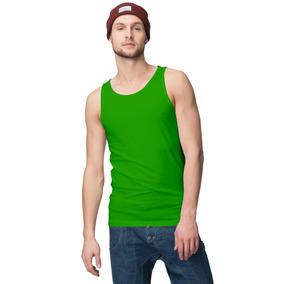 Camiseta Lisa Regata Masculina 100% Algodão Todas As Cores 8bcbdfa5bb5