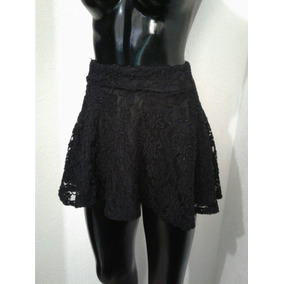 Minifalda De Encaje Talla S Y Vestido Negro