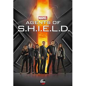 Cartaz Poster Marvel Agents Of Shield Série Pintura Digital