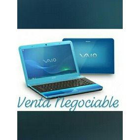 Lapto Sony Vaio Azul Eléctrico Subasto $