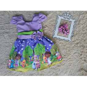 Vestido Temático Luxo De 1 Ao 6 Doutora Brinquedos