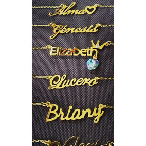 Collar Nombre Personalizado Regalo Mujer/novia/mamá
