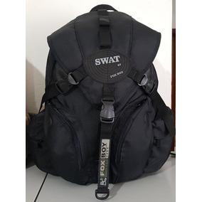 Mochila Bolsa Escolar Preta Reforçada Viagem Moto Swat Top