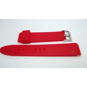 Pulseira Silicone Vermelha 20mm Curvo Magnum Puma Tommy