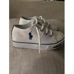 Tenis Polo Ralph Lauren Bebe - Calçados 5101681ef41
