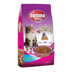 Alimento Para Gato Optimo Felino 20 Kg