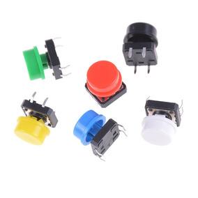 Kit 8 Chave Táctil Push Button Arduino 4 Cores Frete 12,00