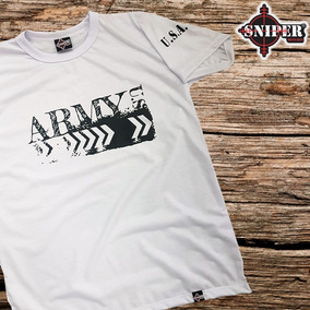 Camisa Estampada Army Sniper