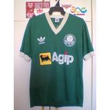 Camisa Antiga Palmeira/sp adidas 1987/ Uma Lenda!