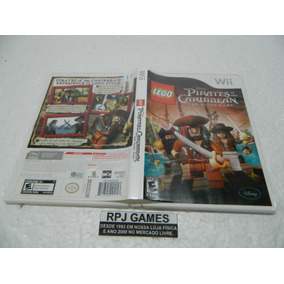 Lego Pirates Of Caribbean Original Completa P/ Nintendo Wii