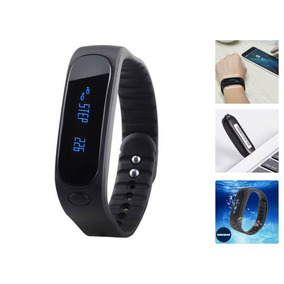 Smart Wrist Band E02 Bluetooth Smart Watch Android Iphone