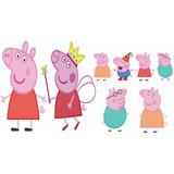 Kit Display Decorativo Peppa Pig Festa 8pçs