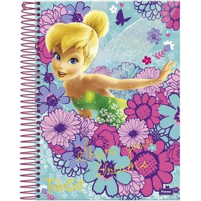 Caderno Universitário - Tinker Bell- 96 Folhas