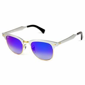 b727fc1dad9b5 Óculos De Sol Ray Ban 3507 137 40 Clubmaster Aluminum - Óculos no ...