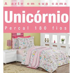 aee4aeb5a Edredom Casal De Unicornio - Roupa de Cama no Mercado Livre Brasil