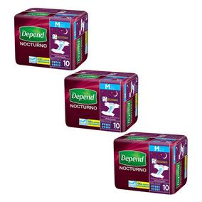 Caja De Depend® Nocturno Mediano 3 Paquetes