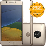 Motorola Moto G5 Xt1672 32gb Dual 4g 13mp Dourado Vitrine 3
