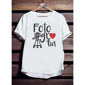 7163598d37 Camiseta Personalizada Fotografo - Camisetas Manga Curta para ...