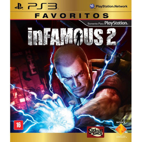 Jogo Infamous 2 Ps3 Playstation 3 Dub Português Mídia Física