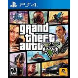 Grand Theft Auto V Gta 5 Ps4, Sellado & Nuevo