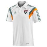 53fd2fb643 Camisa Polo Fluminense Branca Adidas no Mercado Livre Brasil