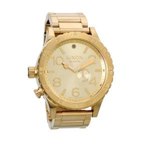 aaf73f6fc18 Relógio Nixon Tide 51 30 Dourado - Relógios De Pulso no Mercado ...