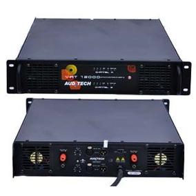 Amplificador Auditech Vat-12000 12000w Rms Em 2 Ohms