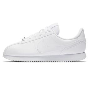 new product 9b246 aadfb Zapatillas Nike Cortez Basic Sl Blanco Mujer