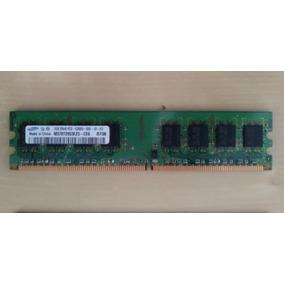 Memoria Ram Samsung 1gb 2rx8 Pc2 - 5300u - 555 - 12 - E3