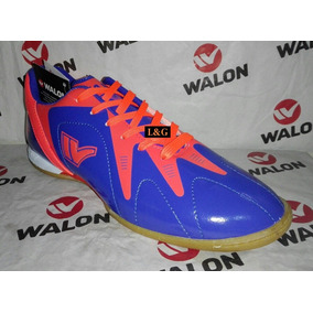 Zapatillas Walon Futsal Fútbol Bluenew Fulbito Oferta 38-42 0325a4914a302
