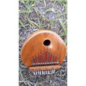 Kalimba Instrumento Africano Com 11 Astes - Frete Grátis