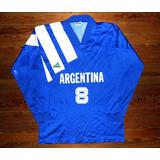 Hermosa Y Rara Camiseta Argentina   Casacas Clásicas ac1985c077db8