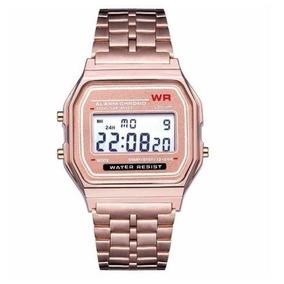 d76e07766 Casio Vintage Preto De Metal - Relógios no Mercado Livre Brasil