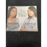 Cd Single The Boy Is Mine - Brandy   Monica 8154e597ef