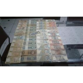 Cedulas Dinheiro Antigo Lote