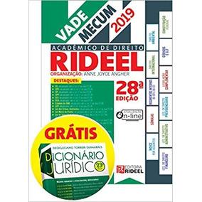Vade Mecum Academico De Direito Rideel 28ª Edição (2019)