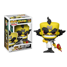 Figura Funko Pop Games Neo Cortex Pop Games Neo Cortex Funko