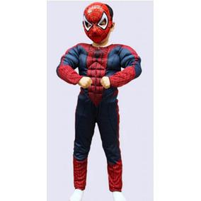 Fantasia Infantil Vingadores Homem Aranha