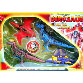Juguete Dinosaurio 4 Transformer Jurassic Velociraptor Niño