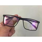9eedfaf649ab5 Óculos P grau Masculino La133 Retangular Leve Novidade