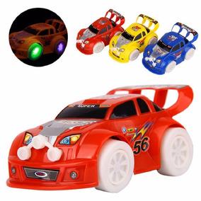 Carro Carrinho De Brinquedo Com Luz E Som Criativo Corrida
