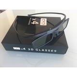 Óculos 3d Ativo Samsung - Kit C/ 4 Unid.