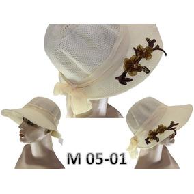 Chapeu De Palha Com Flores - Acessórios da Moda no Mercado Livre Brasil 57f89d3c1e1
