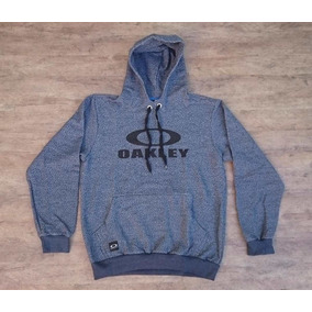 Blusa Moletom Fechado Oakley Logo Pulover Tecido Leve 0b4525fa05b
