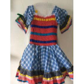Vestido De Festa Junina Luxo Tema Copa - Calçados b8506f24a06