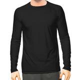 Camisa Camiseta Térmica Solar Masculina Manga Longa